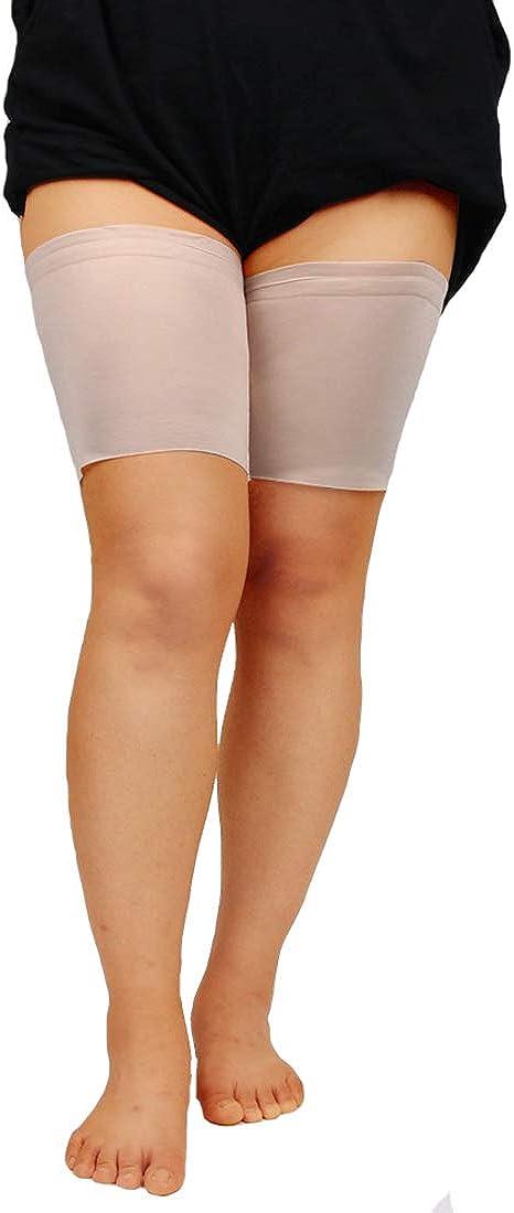JMITHA Elastische Oberschenkel Socken Damen Oberschenkelb/änder Damen Schenkel-Band Anti-Rutsch Oberschenkel elegante Kniestr/ümpfe