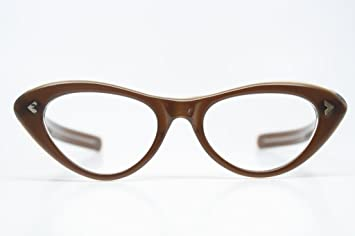 a879468428 Amazon.com   NOS Vintage Cat Eye Glasses   Prescription Eyewear Frames    Beauty