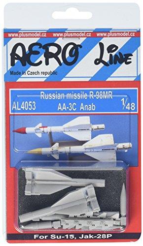 PLUS MODEL(プラスモデル) 1/48 露空対空ミサイルR-98MR・2発 プラモデルの商品画像