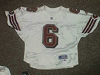 aa0e3b3e5 Image Unavailable. Image not available for. Color  Player   6 San Francisco  49ers Game Jersey ...