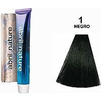 Abril Et Nature - Revelador para tintes de pelo, 60 ml, Negro 1
