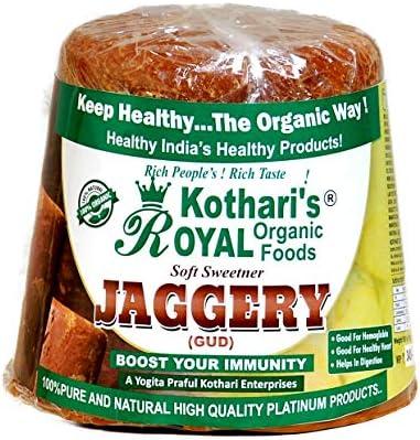 Kothari's Royal Organic Foods And Essential Oil Jaggery, 989 gm