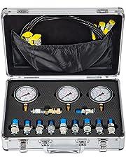 VEVOR Hydraulic Pressure Gauge Kit Excavator Parts Hydraulic Tester Coupling Hydraulic Pressure Test Kit for Excavator Construction Machinery (Hydraulic Pressure Test Kit)