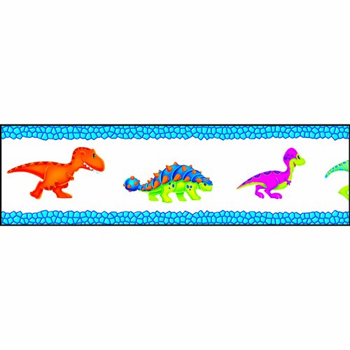 TREND enterprises, Inc. Dino-Mite Pals Bolder Borders, (Dinosaur Bulletin Boards)