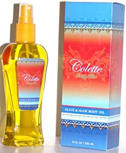 Colette Lovely Glow Olive & Aloe Body Oil 8 oz. 100% Pure