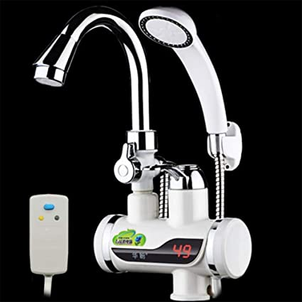 Amazon Com Trnmc Electric Water Tap Instant Electric Tankless Water