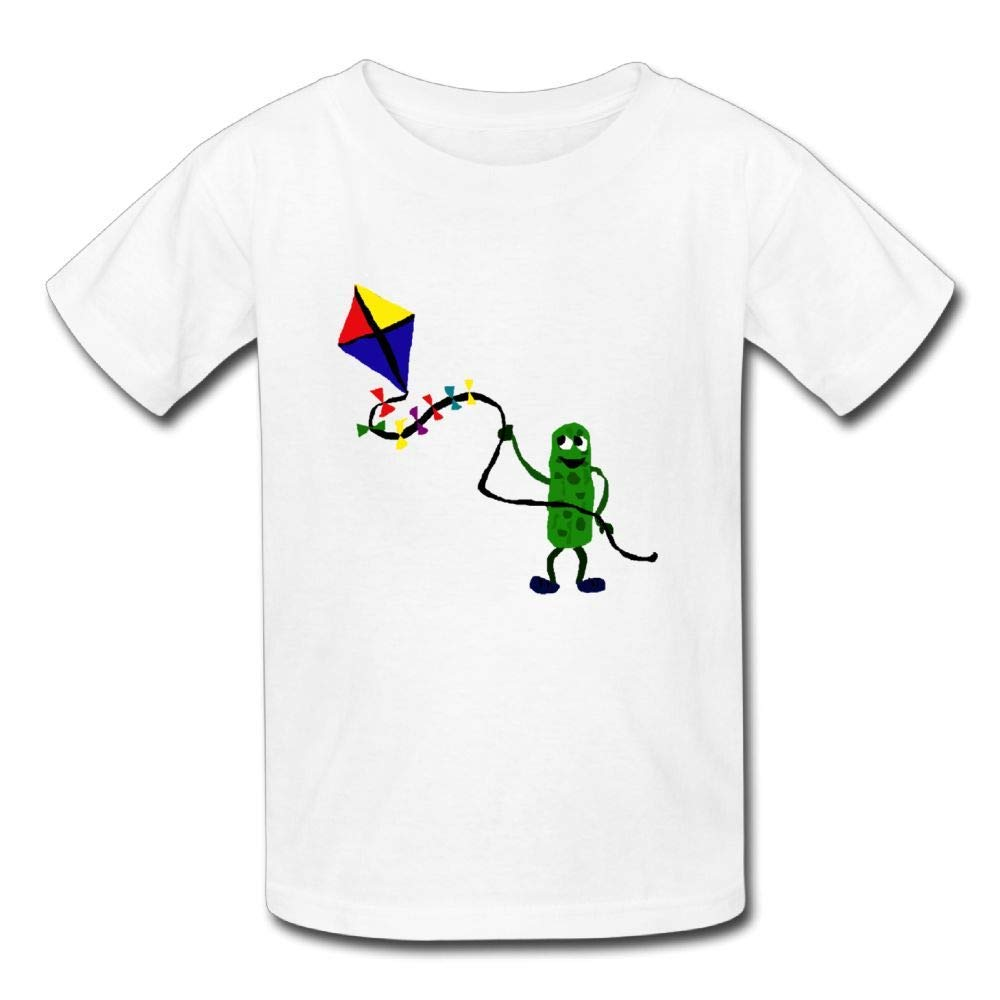 Short Sleeves T Shirts Pickles Fly A Kite Baby Girl Toddlers