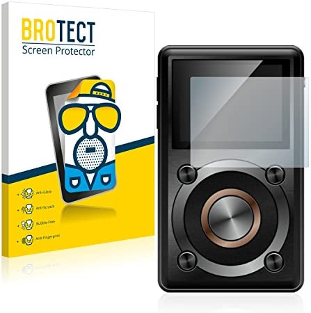 BROTECT 2X Entspiegelungs-Schutzfolie kompatibel mit FiiO X1 Displayschutz-Folie Matt, Anti-Reflex, Anti-Fingerprint
