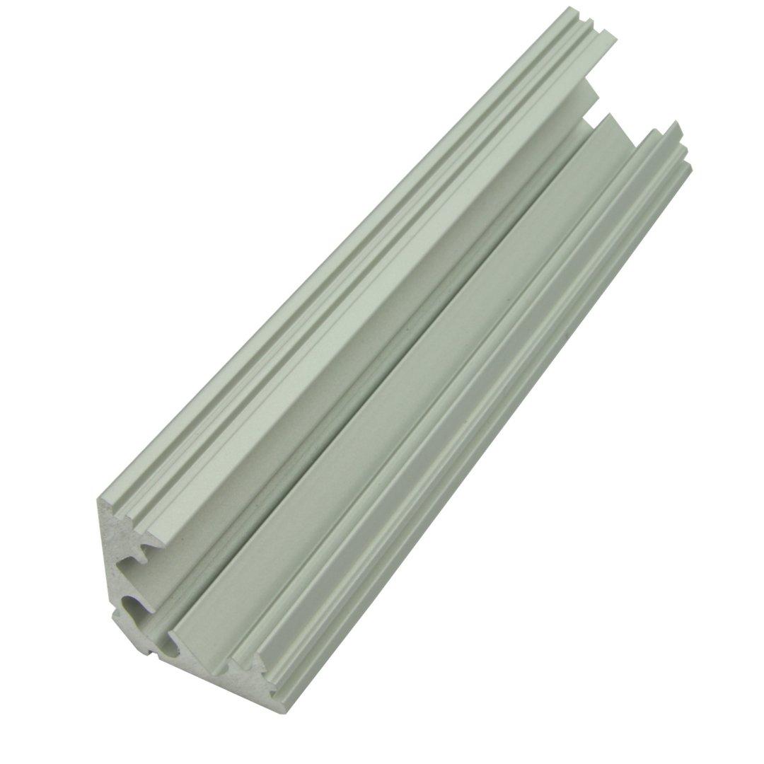 2m Aluminium Eckprofil P3 Fur Led Streifen Abdeckung Opal Klar