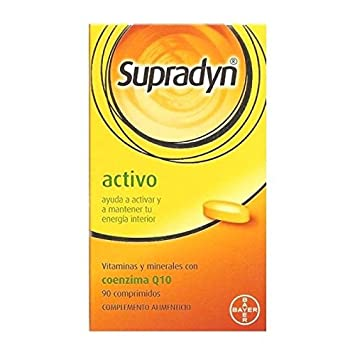 Bayer Supradyn Supradin Multi-vitamin Vitamine 120 Pills From Spain