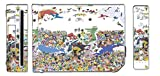 Pokemon All in One Picture Pikachu Ash Cartoon Video Game Vinyl Decal Skin Sticker Cover for the Nintendo Wii System Console