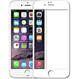 Axcompany 9H 5D Tempered Glass Screen Protector for Apple iPhone 6/6S (White)