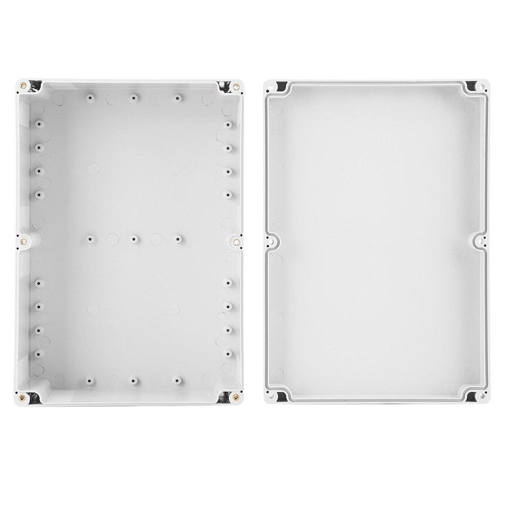 263 x 185 x 95 mm Bo/îtier de projection en plastique 10,3 x 7,3 x 3,7 pouces Bo/îte de raccordement /étanche /à la poussi/ère