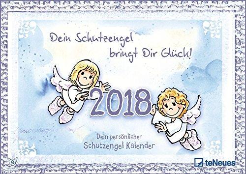 Schutzengel 2018 - Wandkalender, Glücksbringer - 42 x 29,7 cm