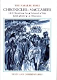The Navarre Bible: Historical Books - Chronicles-Maccabees 1: In the Revised Standard Version and New Vulgate with a Commentary by Members of the ... of Theology of the University of Navarre
