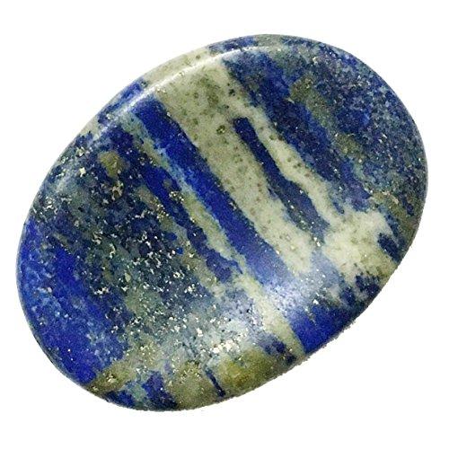 Natural Blue Lapis Lazuli Worry Stone - Reiki, Healing, Chakra