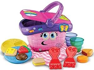 Leapfrog 81186 - Cesta de picnic con alimentos de juguete [Importado de Francia]
