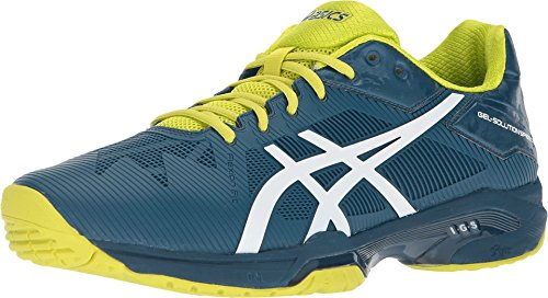ASICS Gel-Solution Speed 3 Shoe - Men's Tennis Ink Blue/White/Sulphur Springs