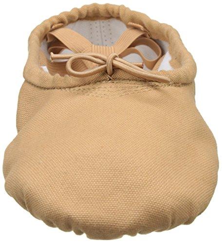 Sansha–Zapatos de Ballet Zapatillas demi-pointes adultos en lienzo modelo 1C pro1C carne