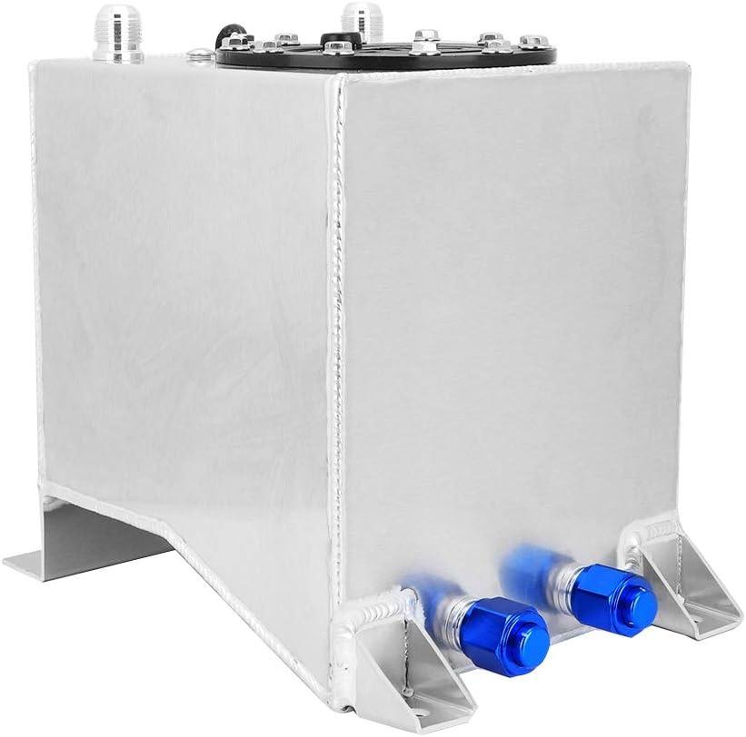 EBTOOLS Profesi/ón Dep/ósito de gasolina de pila de combustible .2.5 galones//9.5L Aleaci/ón de aluminio universal Dep/ósito de gasolina de pila de combustible Nivel Remitente Accesorio para autom/óvil