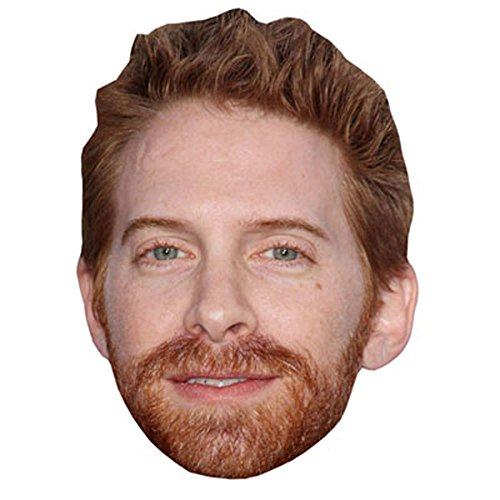 Seth Greene Celebrity Mask, Card Face and Fancy Dress - The Greene Card Gift