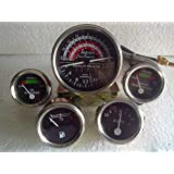amazon mf massey ferguson tractor gauges kit 20 20d 20e 20f Outboard Motor Trim Gauge massey ferguson mf tractor gauge tachometer set mf35 mf50 mf65 to35 f40 mh50