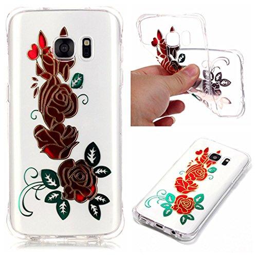 inShang Samsung Galaxy S5 2014 Funda Case de [funda para Samsung Galaxy de Transparente] [ 3D imagen con la tecnología de broncea],la cubierta protectora conveniente estilo nuevo case cover para el Sa 06