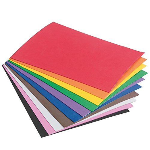 Sticky Back Foam Sheets, 6