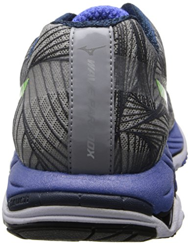 Mizuno Men's Wave Paradox Running Shoe Alloy/Green Flash/Dazzling Blue great deals for sale sale Cheapest buy cheap ebay perfect sale online fQRSsBr