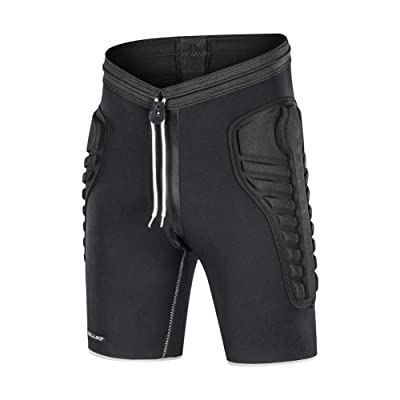 TUOY Mens Tri-Flex Padded Compression Shorts Undershort for Cycling, Ice Skating : Clothing [5Bkhe0502761]