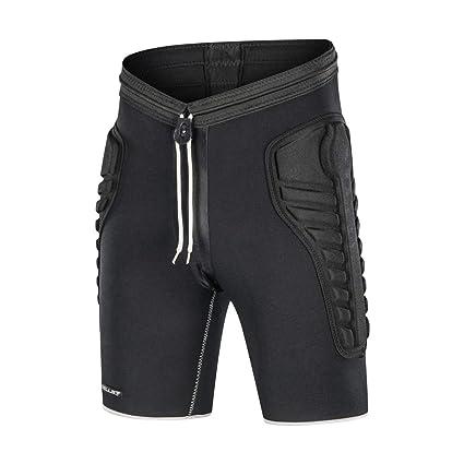 Amazon Com Tuoy Mens Tri Flex Padded Compression Shorts Protection