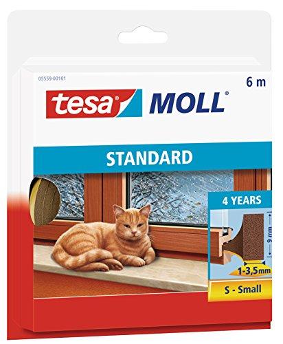 Price comparison product image tesa UK Tesa Standard I Profile Foam Sealing Insulation (L X W X H) 6 X 9 X 4 M 6Mx9Mmx4Mm Brown