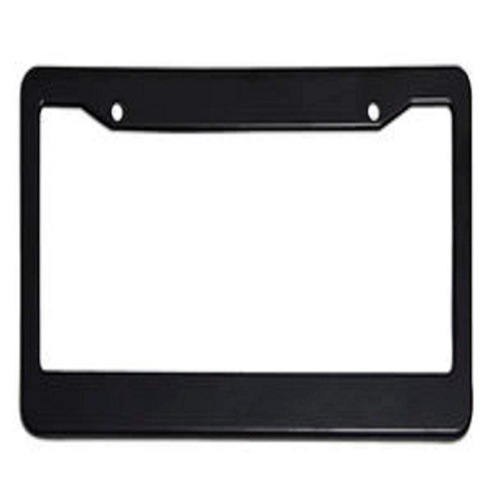 MOHUI My Patronus is Guinea Pig License Plate Easy Installation Car License Frames Aluminum Vanity License Tags Universal License Holder with 4 Holes for Wheeled Machine Van Lorry Truck 6x12 in