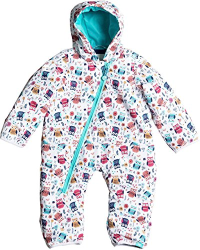Roxy Baby Girl - Roxy Baby Girls' Rose Jumpsuit, Little Owl, 6-12 Months