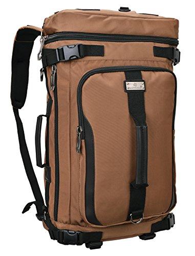 Travel Outdoor Computer Backpack Laptop bag 15.6'' (brown) - 7