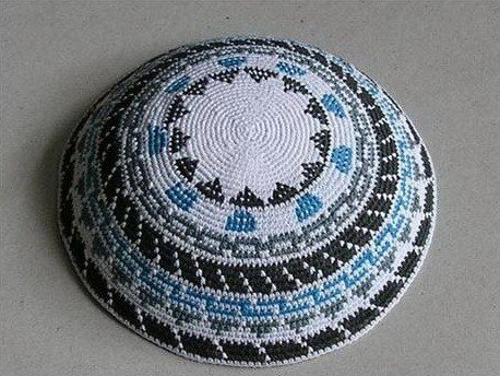 Dmc Hand Knitted Yarmulke Kippah Hat (Hand Knitted Hat)