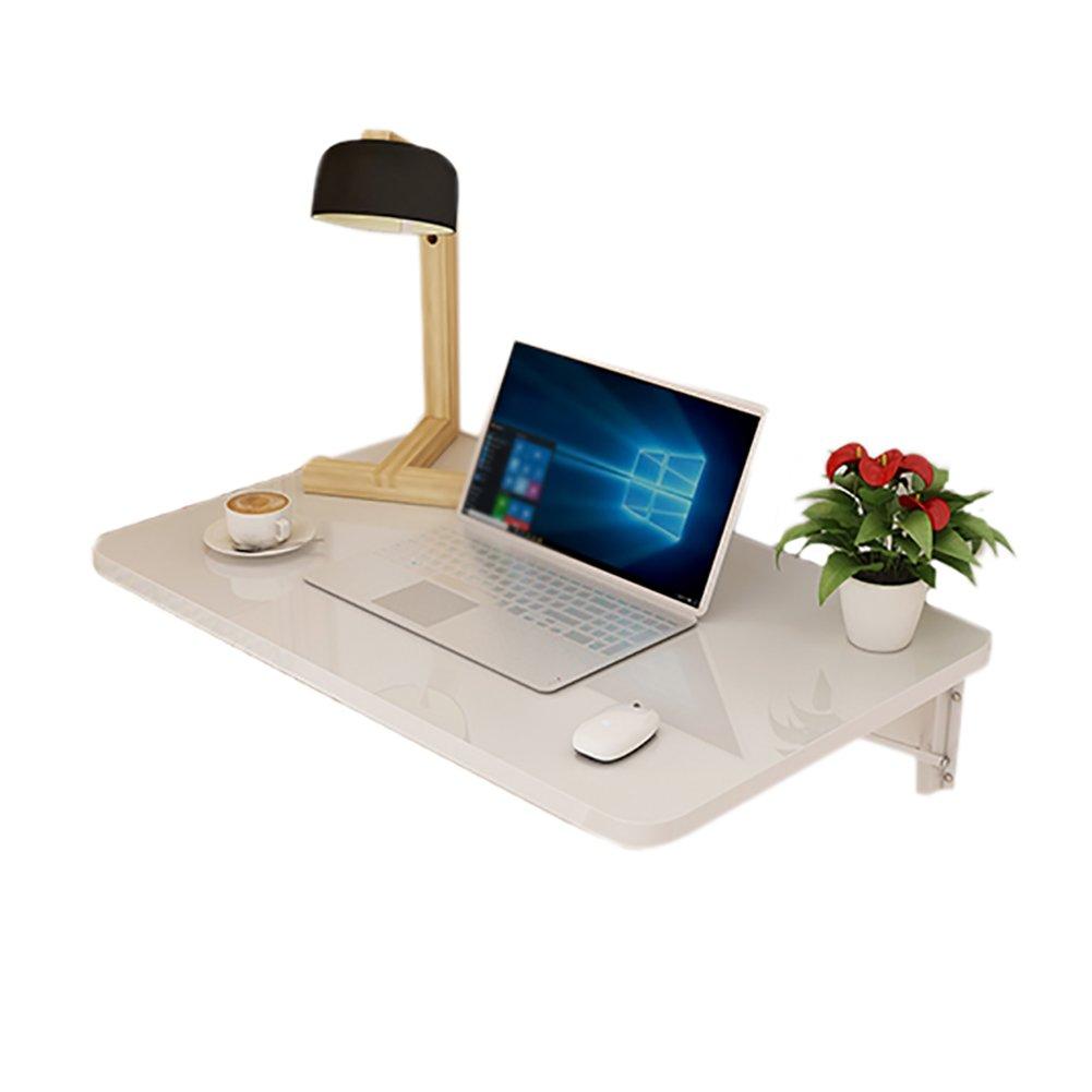 折り畳みテーブル& 壁掛けダイニングテーブル壁掛けコンピュータデスク、壁掛けドロップテーブル、白(ゲーム、学習、仕事) (サイズ さいず : 80*40cm) B07F1CTJF2 80*40cm 80*40cm