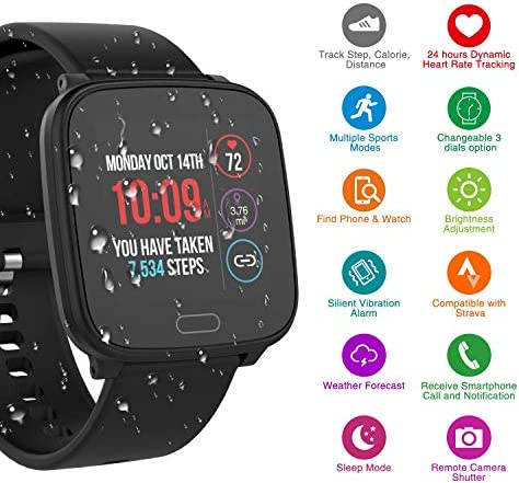 iConnect By Timex Active Smartwatch with Heart Rate, Notifications and Activity Tracking 51KGPVL 2BI5L