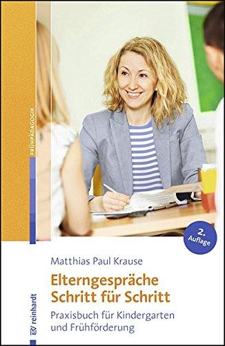 Elterngesprache Schritt Fur Schritt Praxisbuch Fur Kindergarten
