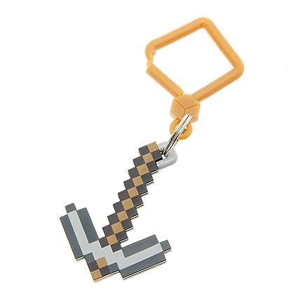 Minecraft ciego bolsa perchas - pico clave cadena: Amazon.es ...