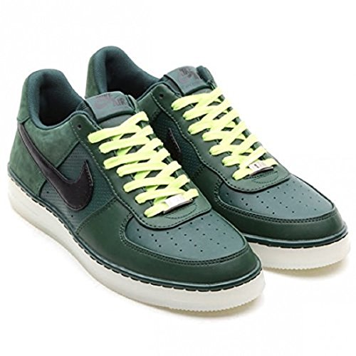 Nike Men's AF1 Downtown Casual Shoe. Size 8. PRO Green/Black-White-Volt