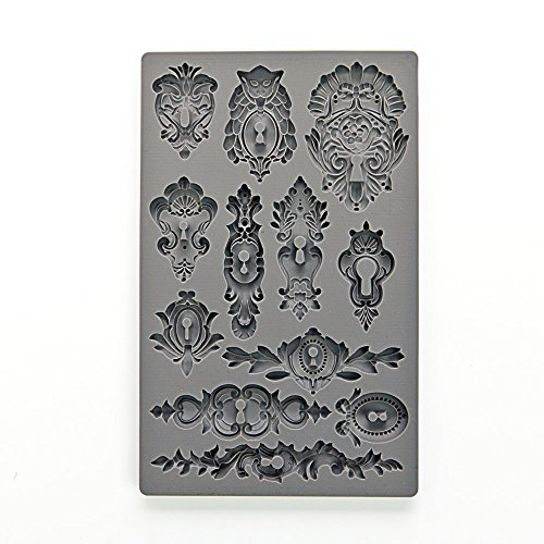 Prima Marketing Iod Vintage Art Decor Moulds -''KEYHOLES'' by Prima Marketing