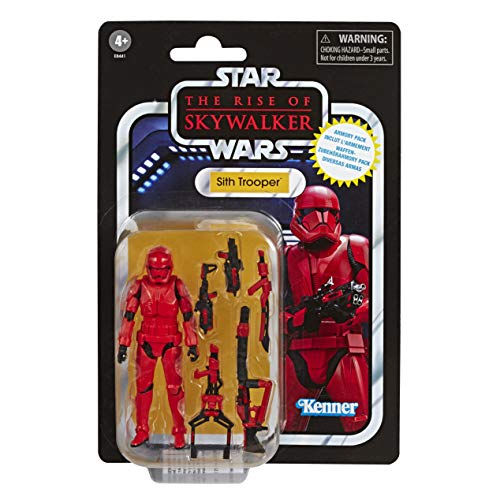 "Star Wars The Vintage Collection The Rise of Skywalker Sith Trooper Armory Pack Toy, 3.75"" Scale Figure with 5 Accessories (Amazon Exclusive)"
