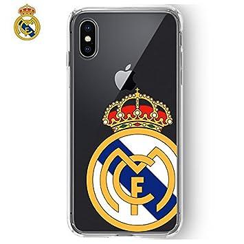 Carcasa Funda iPhone X Licencia Fútbol Real Madrid ...
