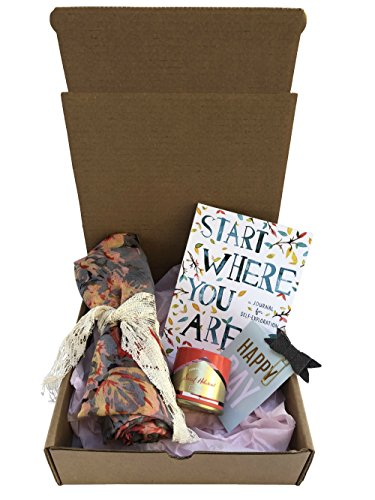 Blush Gift Box-Scarf, Candle,