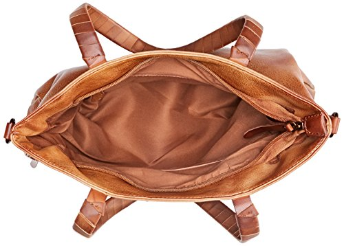 W 37x37x2 Shopper x x Marrón Camel 85943 L cm para Mujer XTI H BYI5I1