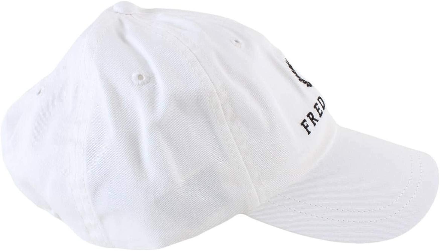 Fred Perry Gorras Tennis Cap Snow White Flexfit: Amazon.es: Ropa y ...