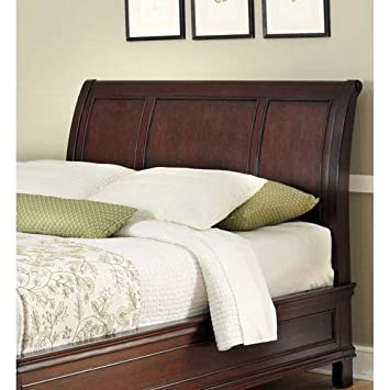 cal sleigh king bedroom brown light trishley mood beds kingcal headboards headboard product