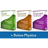 """Crack the OAT"" Ultimate Bundle Package - Simulate the Optometry Admission Test (2016-2017 Edition) [Digital Download]"