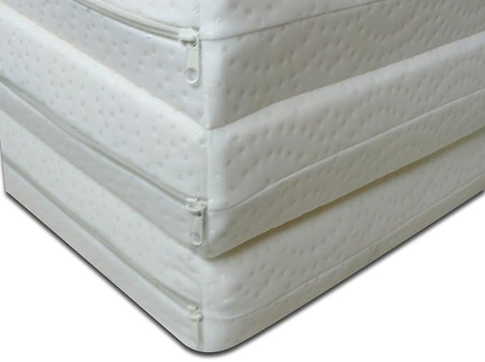Pequeño colchón futón, plegable, ahora espacio, cama individual, lit simple 90x200 latex: Amazon.es: Hogar